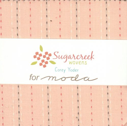 "Moda Charm Pack - Sugarcreek Silky Wovens (42 x 5"" patchwork fabric squares)"